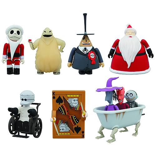 Nightmare Before Christmas Kubricks Deluxe Box Set
