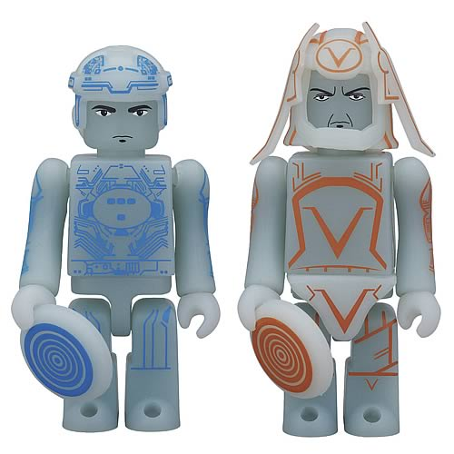 TRON Legacy Tron and Sark Kubrick 2-Pack