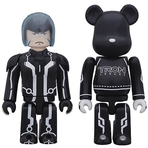 TRON Legacy Sam Kubrick and Lightcycle Bearbrick 2-Pack