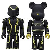 TRON Legacy Clu Kubrick and Lightcycle Bearbrick 2-Pack