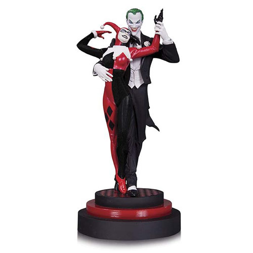Batman Joker and Harley Quinn Statue