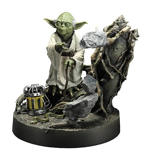 Star Wars Yoda Empire Strikes Back ArtFX Statue
