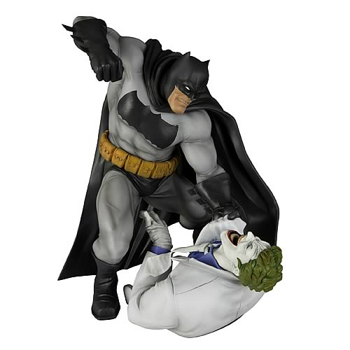 Batman Dark Knight Returns Batman vs. Joker ArtFX Statue ...