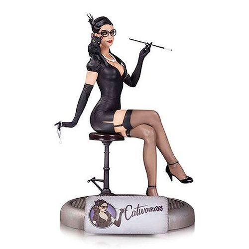 You'll Purr when You See This Stunning Catwoman Statue!