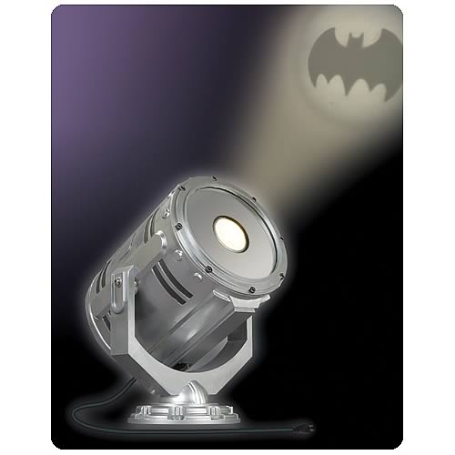 Batman JLA Trophy Room Electronic Bat Signal Prop Replica