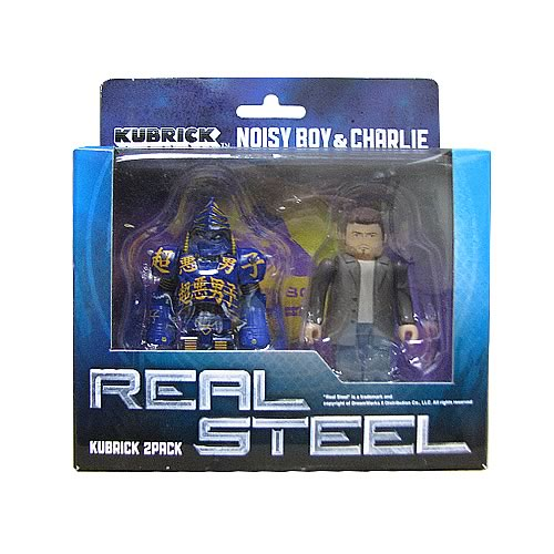 Real Steel Noisy Boy and Charlie Kubrick 2-Pack