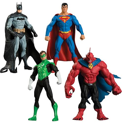 Superman Batman Series 6 Action Figure Set