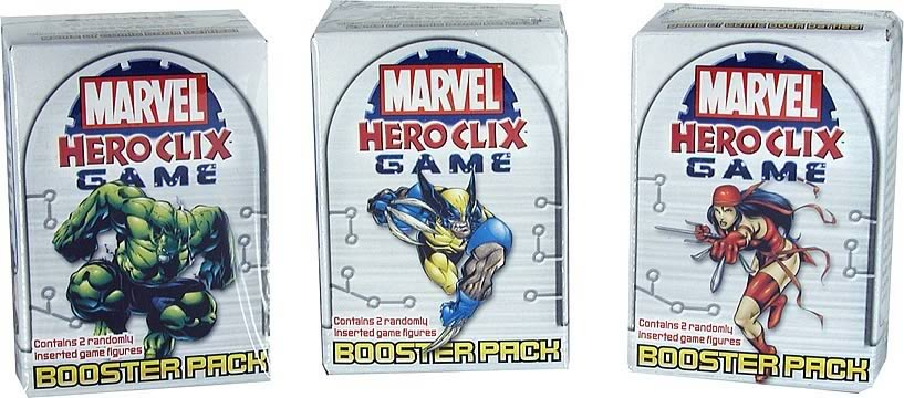 Marvel HeroClix Booster 4-Pack