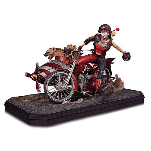 DC Comics Gotham City Garage Harley Quinn Deluxe Ed. Statue