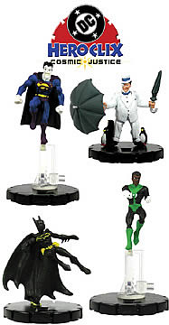 HeroClix Cosmic Justice 3-Pack
