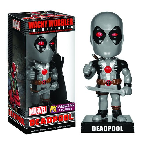 Deadpool X-Force Bobble Head - Previews Exclusive