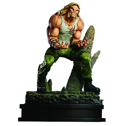 X-Men Sabretooth Street Clothes Statue