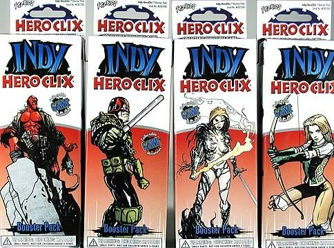 Indy HeroClix Booster 5-Pack