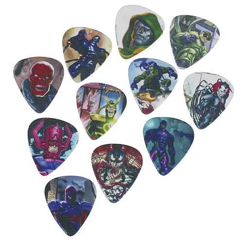 Marvel Villains Guitar Pick Pack
