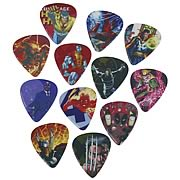 Marvel Heroes 1 Guitar Pick Pack
