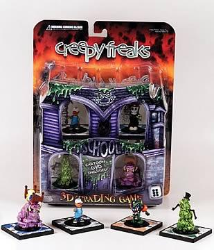 Creepy Freaks Booster 5-Pack