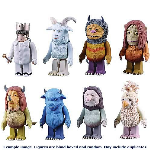 Where The Wild Things Are Kubricks Figures 6-Pack