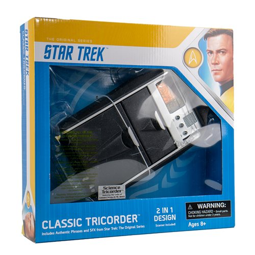Star Trek Original Series Science Tricorder Replica