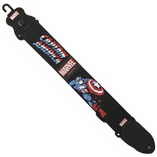 Captain America Nylon Guitar Strap