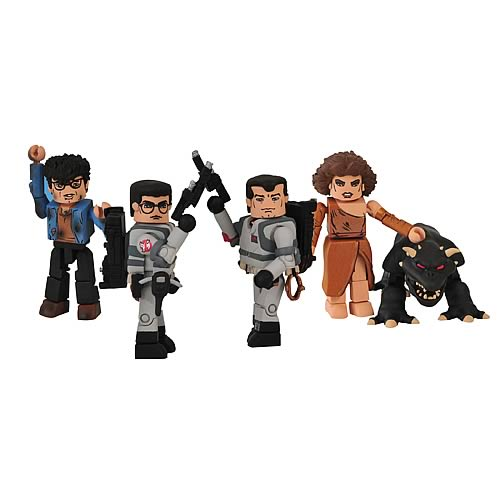 Ghostbusters Minimates Figures Series 1 Box Set