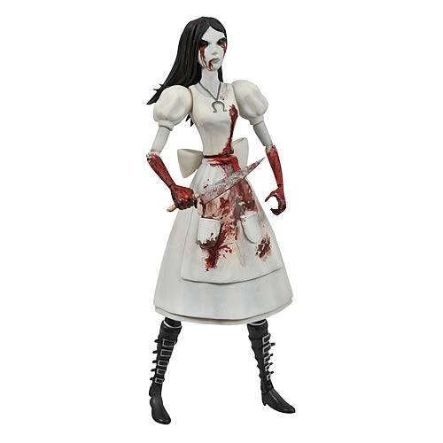 Alice Madness Returns Select Hysteria Alice Action Figure