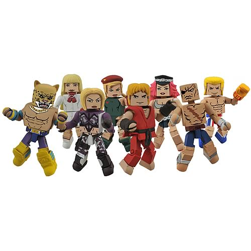 Street Fighter X Tekken Series 1 Minimates Case