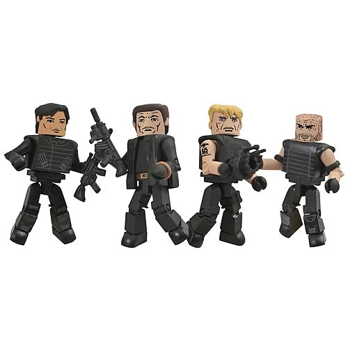 Expendables 2 Minimates Box Set