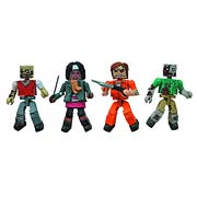 The Walking Dead Prison Outbreak Minimates Set