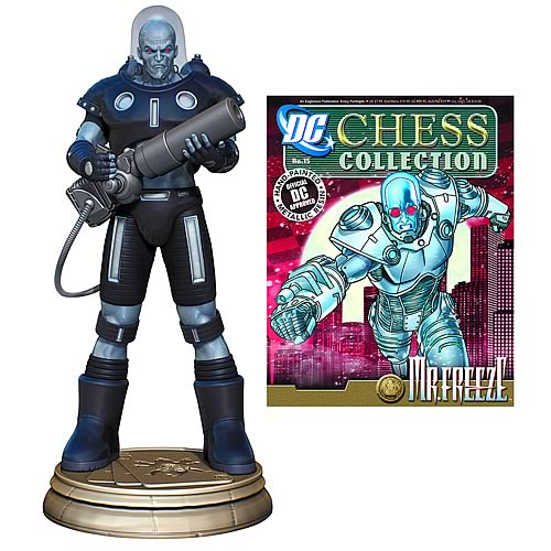 Batman Mr. Freeze Black Pawn Chess Piece with Magazine