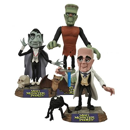 Mad Monster Party Action Figure Set