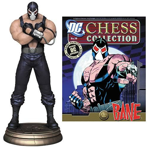 Batman Bane Black Pawn Chess Piece with Magazine