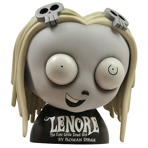 Lenore 8-Inch Figural Vinyl Coin Bank