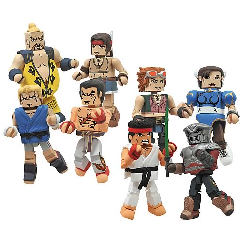 Street Fighter X Tekken Series 2 Minimates Case