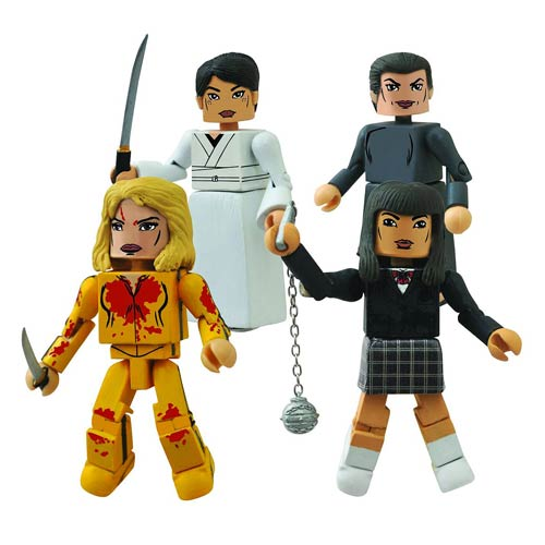 Kill Bill Minimates House of Blue Leaves Mini-Figure Box Set
