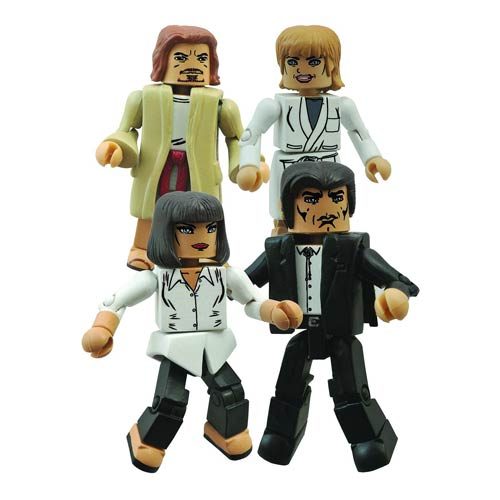 Pulp Fiction Jackrabbit Slims Minimates Box Set