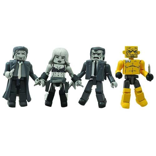 Sin City Minimates Series 1 Box Set