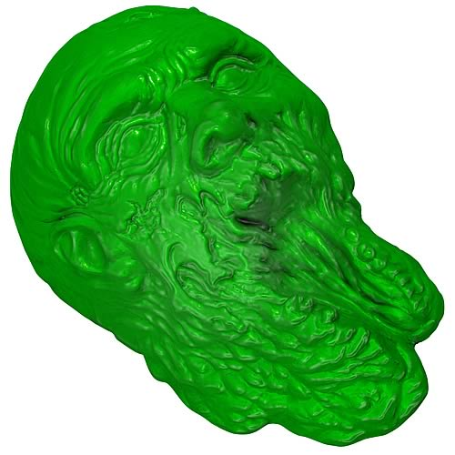 The Walking Dead Zombie Silicone Gelatin Mold
