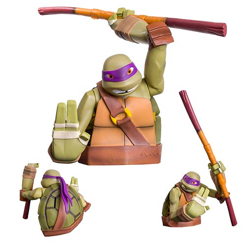 Teenage Mutant Ninja Turtles Donatello Bust Bank