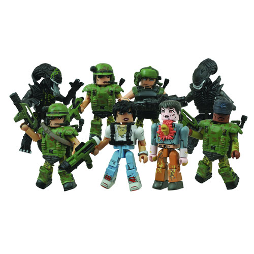 Aliens Minimates Series 1 Case