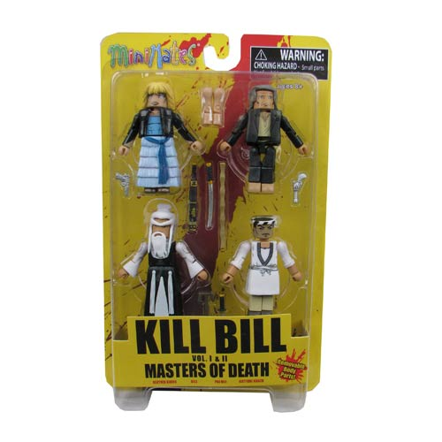 Kill Bill Minimates Master of Death Box Set