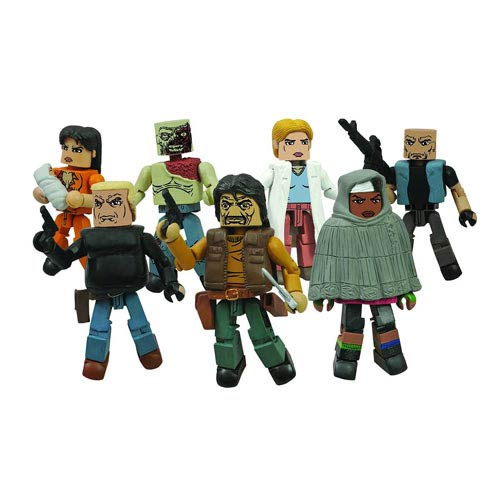 Walking Dead Minimates Series 4 Set