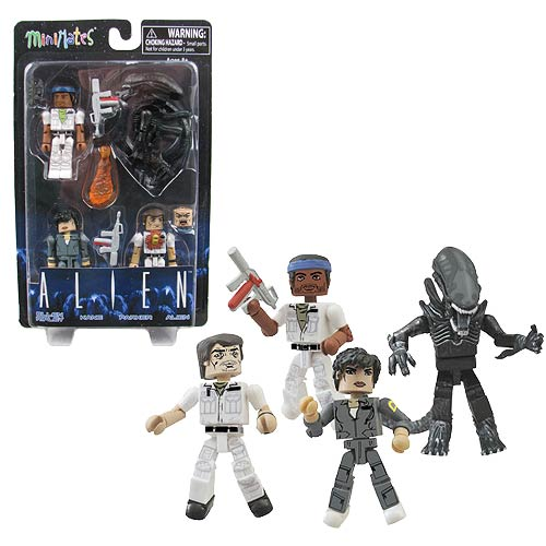 Alien 35th Anniversary Minimates Box Set