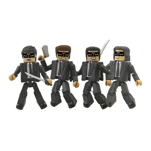 Kill Bill Minimates Crazy 88 Mini-Figure Box Set