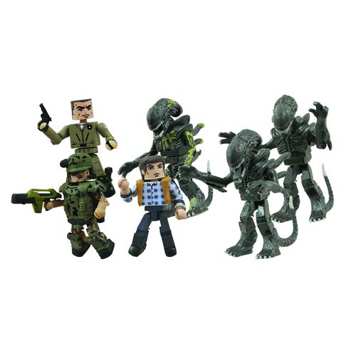 Aliens vs. Marines Minimates Wave 1 Case