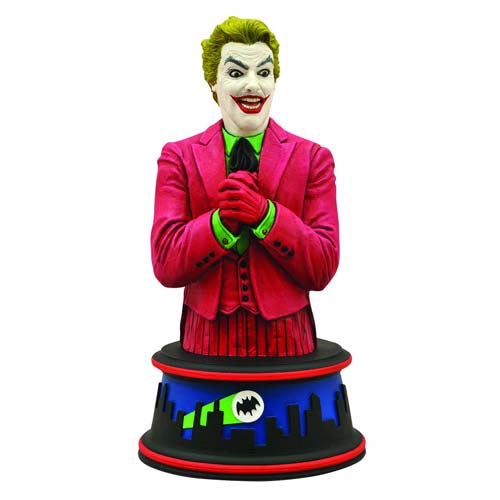 Batman 1966 TV Series Joker Cesar Romero Mini-Bust