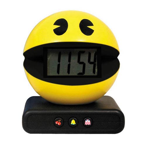 Pac-Man Alarm Clock