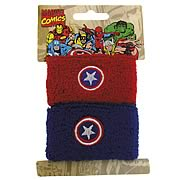 Captain America Double Wristband Set
