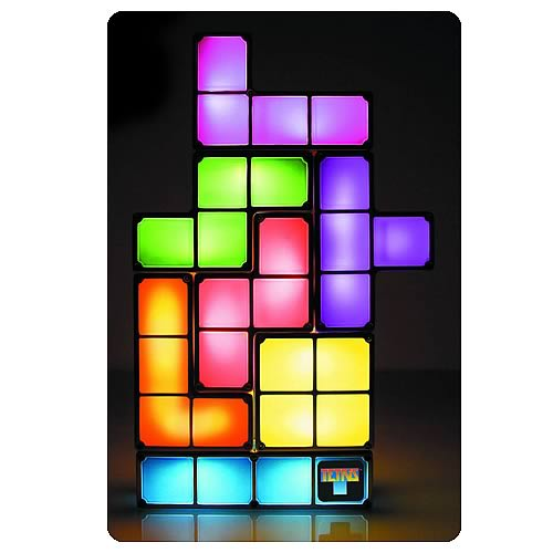 Tetris Constructible Light Lamp
