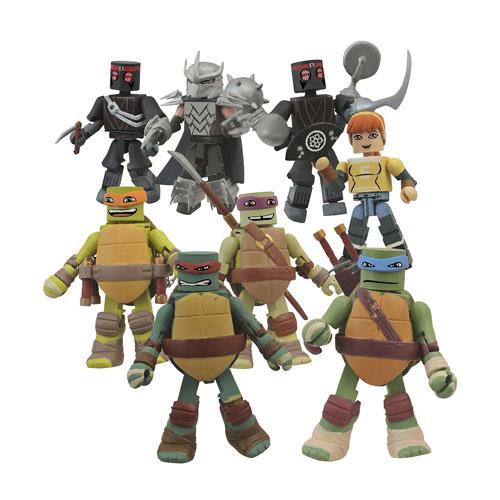 Teenage Mutant Ninja Turtles Minimates Display Box