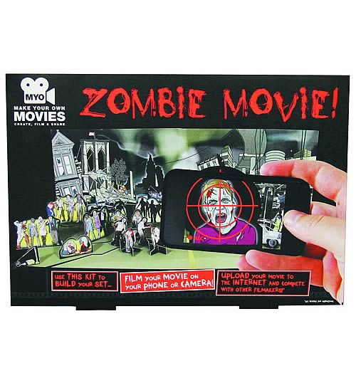 Make Your Own Zombie Movie Model Kit